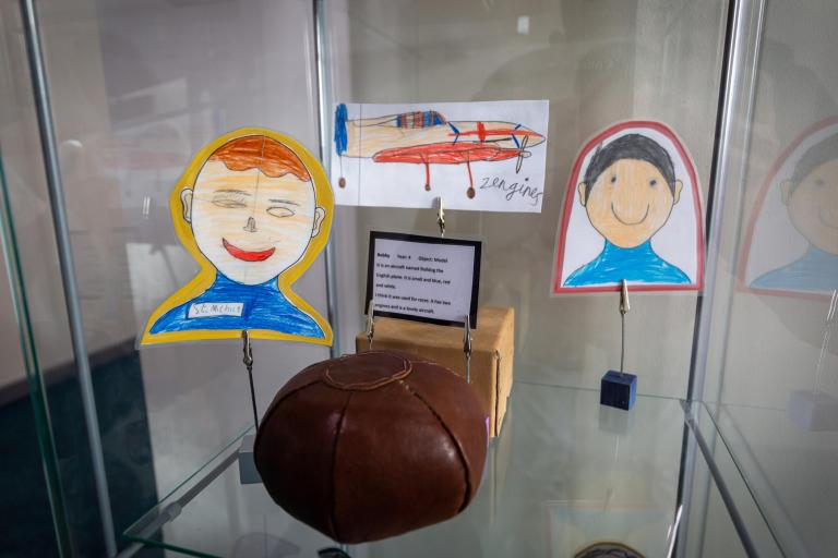 The pupil curated museum at St Michael's, Larkhill
