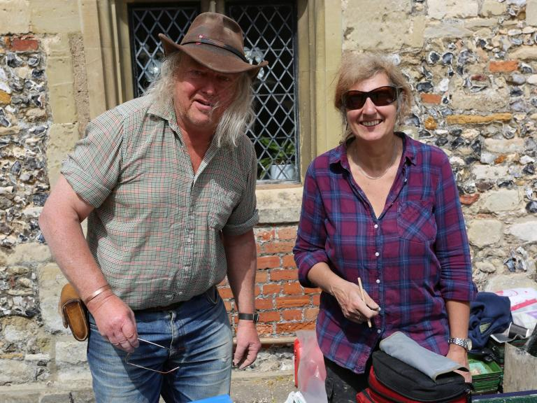 The Festival of Archaeology with Phil Harding and Lorraine Mepham