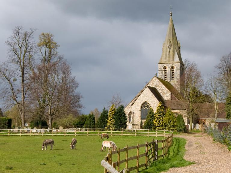 St Andrew's Church Wraysbury: Where it all began
