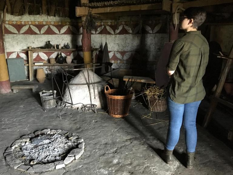 Emily's week of work experience - Ancient Technology Centre
