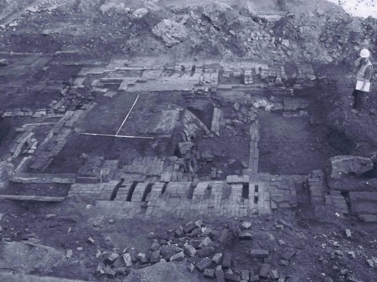 Excavations at Kelham Rolling Mills, South Yorkshire