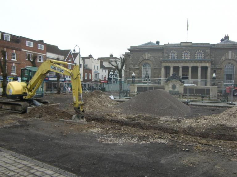 Excavations by Wessex Archaeology at Salisbury Market