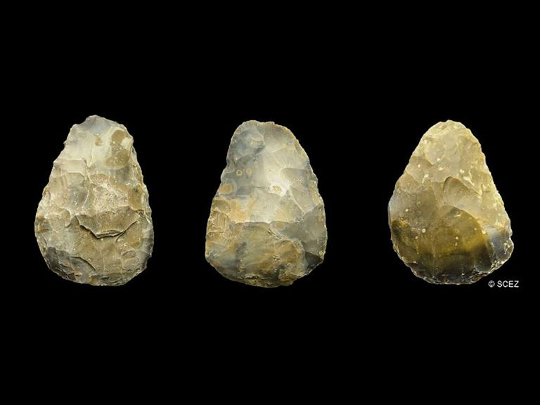 Palaeolithic Handaxes from the North Sea