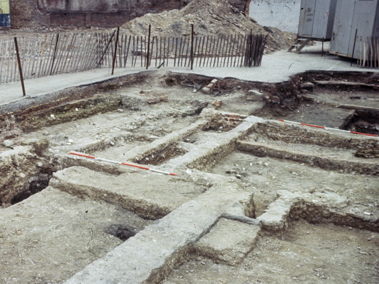 Excavations at Brown Street by Wessex Archaeology