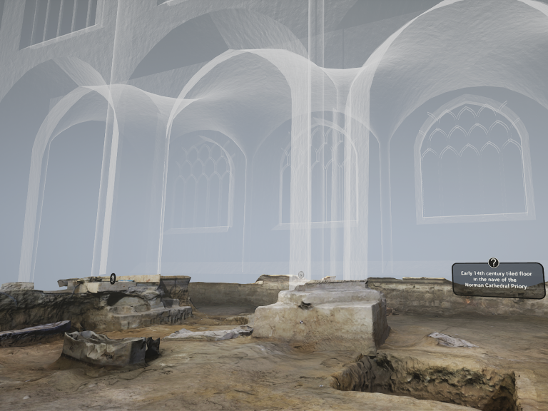Virtual Reality – Below Bath Abbey