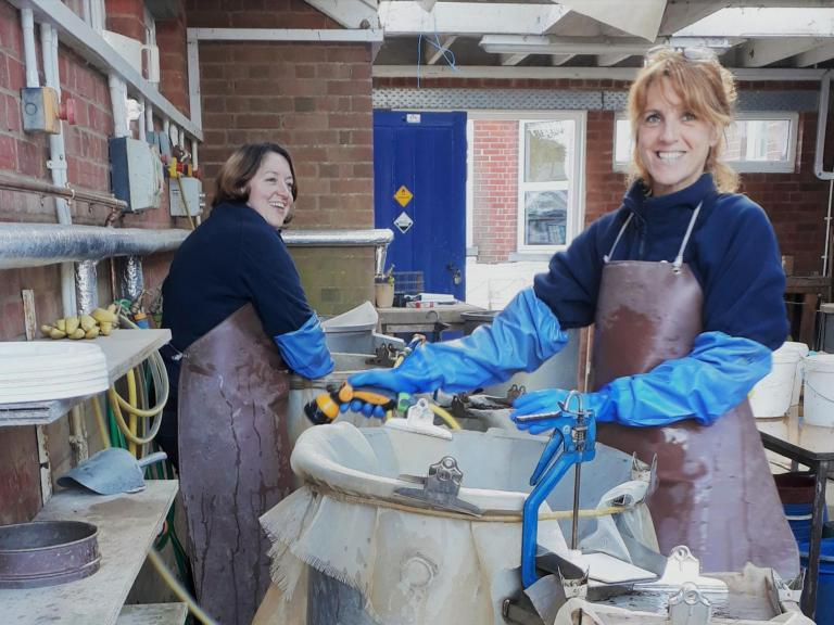 A day in the life of an Environmental Lab Technician Jenny and Liz