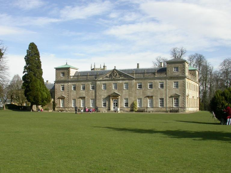 Lydiard Park viewed from across the lawn