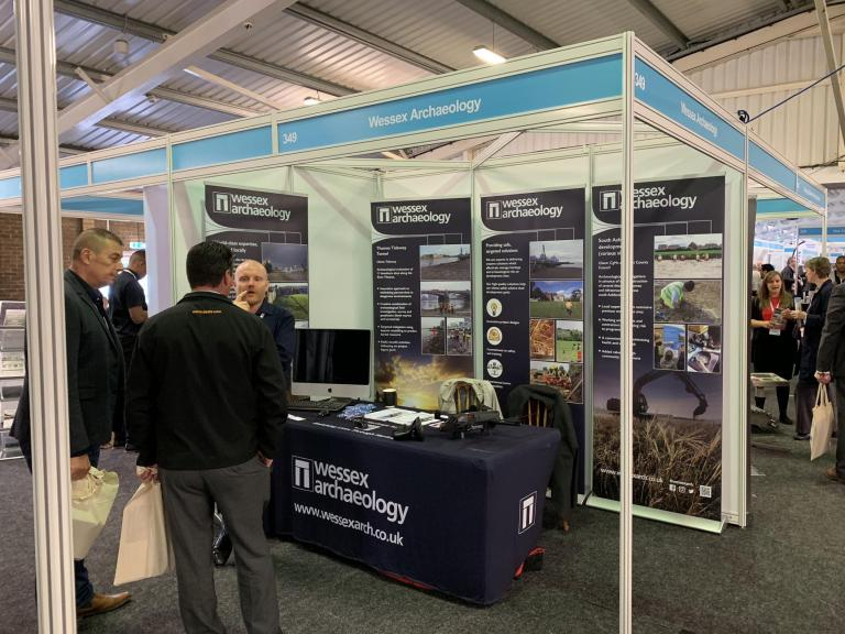 Wessex Archaeology London & South East at Kent Construction Expo
