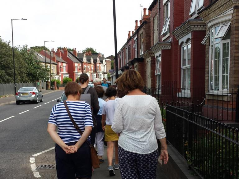 Walk around Tinsley as part of the Heritage Workshops