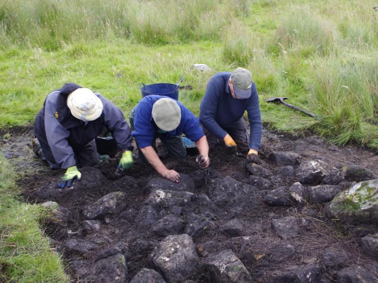 Searching for Bronze Age features at Otterburn