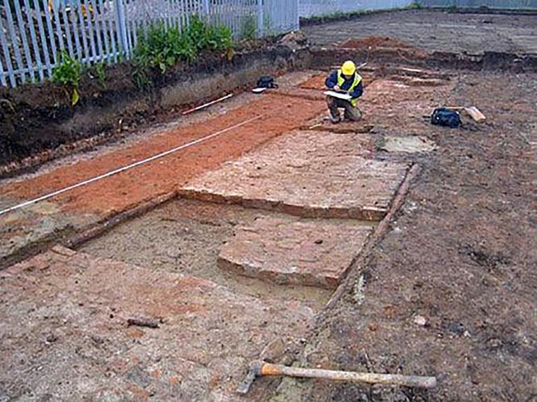 Archaeological recording work at Hawthorn Avenue, Hull