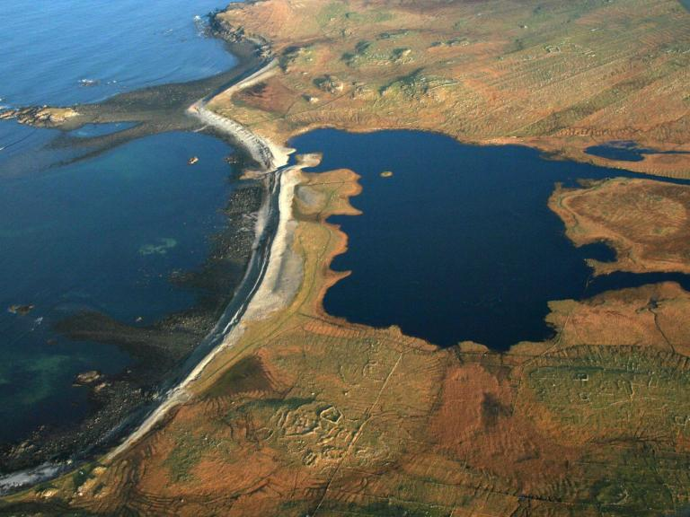 Loch Arnol Aerial photography survey during the Outer Hebrides Coastal Community Marine Archaeology Pilot Project