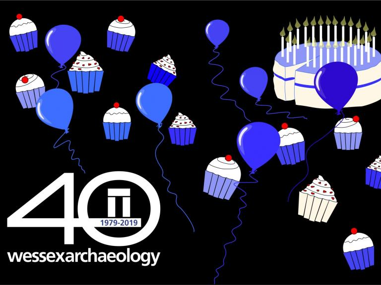 Wessex Archaeology: Celebrating 40 years with cake