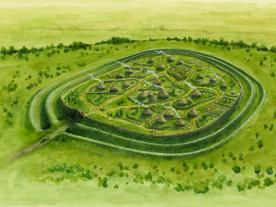 Cadbury Camp Hillfort reconstruction- A Beacon of the past