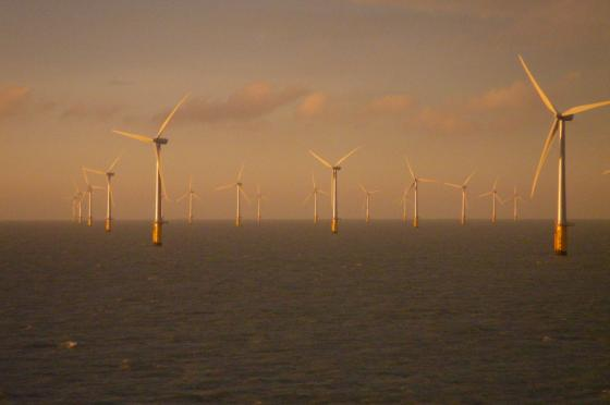 Offshore windfarm off Thanet